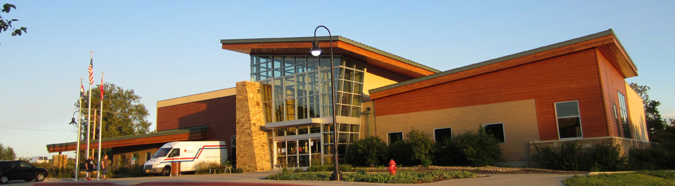 The Ozark Community Center in Ozark, MO
