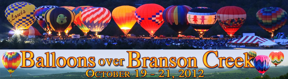 Balloons Over Branson Creek 2012