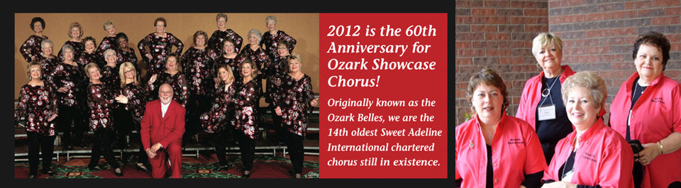 The Ozark Showcase Chorus 2012