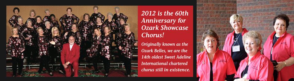 The Ozark Showcase Chorus 2012