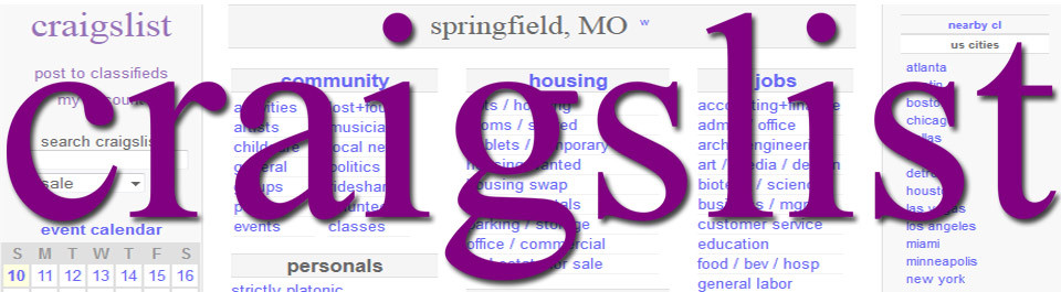 Craigslist Springfield, MO