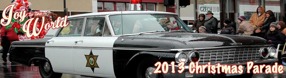 Christmas Parade in Springfield Missouri