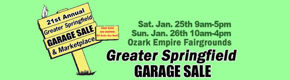 Garage Sale at the Ozark Empire Fairground