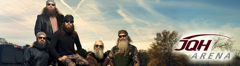 Duck Dynasty coming to JQH Arena