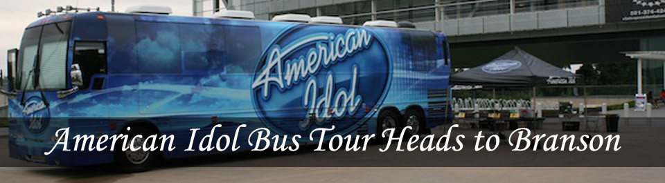 American Idol Bus Tour Headed to Branson
